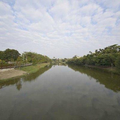 台南鹽水月津港清水公園