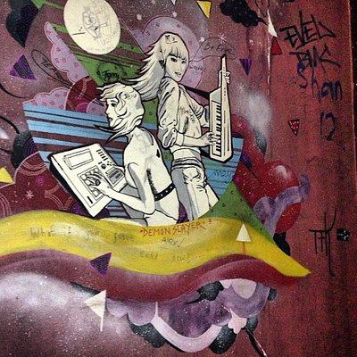Dada Shanghai back room mural