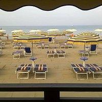 Vista spiaggia dal Lounge Bar