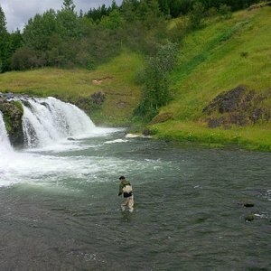 Waterfall River Varma - Day tours - Anglers.is