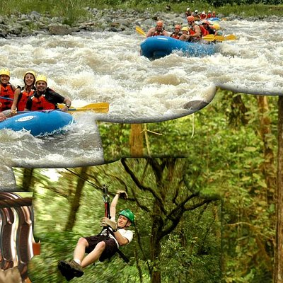 Rafting & Canopy Combo Specialist