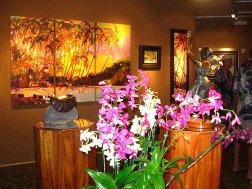 Lahaina Galleries on the Big Island of Hawaii at Shops at Mauna Lani