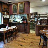 Interior of Hilli's Restaurant