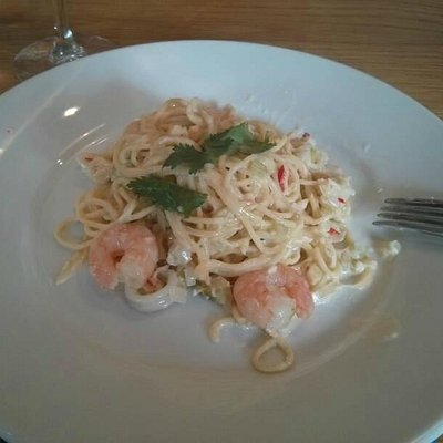 Seafood Linguine. Made (and eaten) on the day