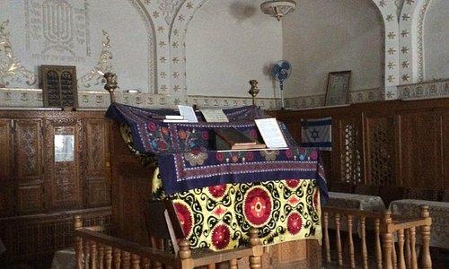 Bima in synagoge