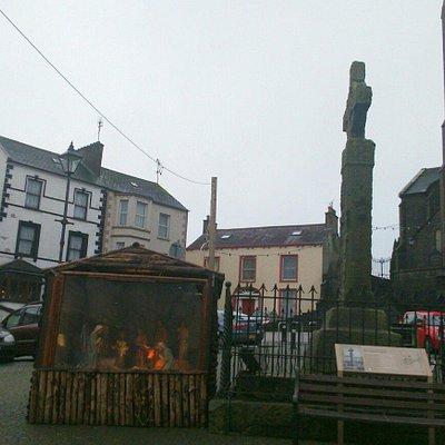 High Cross & Nativity Stand