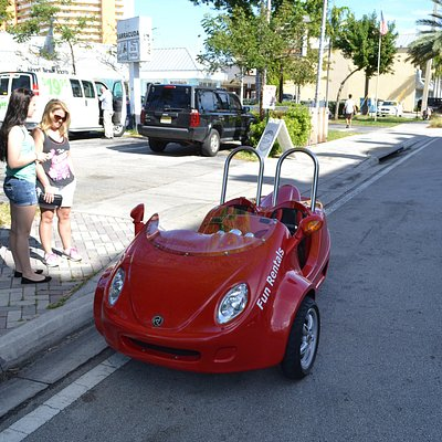Red Scoot coupe