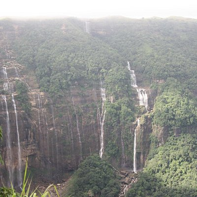 One of the Water fall located in Sohra