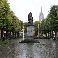 Simon Stevin Square Bruges