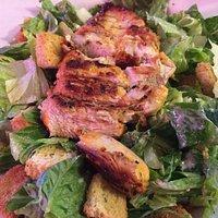Grilled Chicken Cesar Salad -yum!