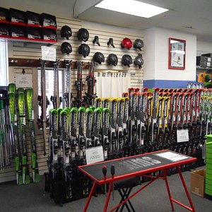 We carry a variety of Elan skis for various types of skiers.