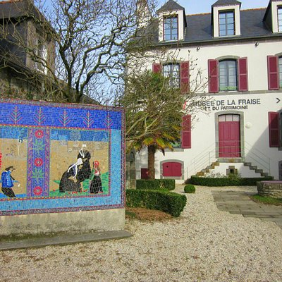 """Entrée """"historique"""" du musée, qui n'est actuellement plus utilisée mais qui se situe face à l'Eg"""
