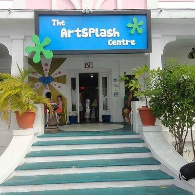 ArtSplash Centre main entrance