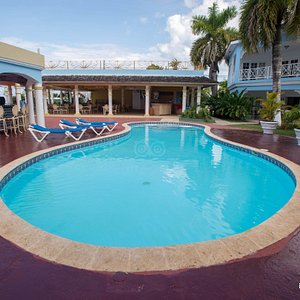 The Pool at the Beachcomber Club