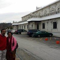 with Nalini Kizhoor Warrier of Hariharamangalam, Ponnani