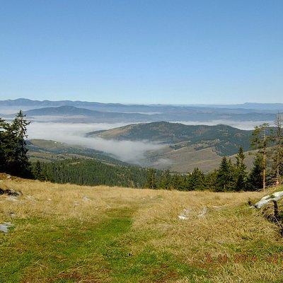 Вид с вершины Торник