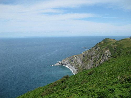 On the path to Ilfracombe
