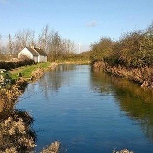Canal side walk