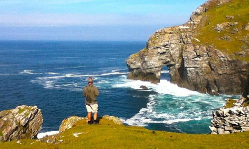Horn Head Arch, Dunfanaghy, County Donegal