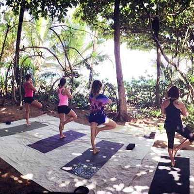 Private Beach Yoga Rincon