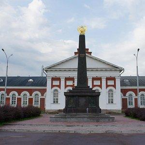 Спортивный Манеж в историческом здании