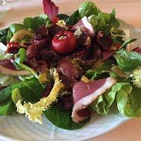 Salade de gésiers de canards