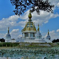 fraaie tempel