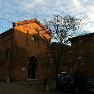 Esterno dell'ex chiesa di S.Libera ora sede del Museo Lapidario di Ferrara