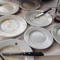 Τοσο καλο το φαγητο! Τα γυαλισαμε τα πιάτα!!!