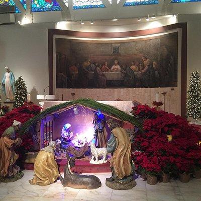 Christmas Eve mass 2014