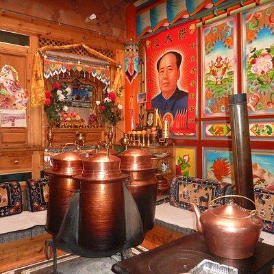 intérieur tibétain
