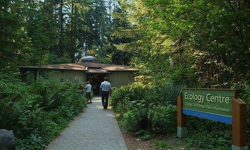 Entrada no centro ecologico