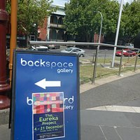 Backspace Gallery Billboard