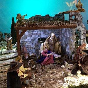 Crèche de l'église Ste Rita