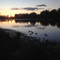 Lake Spenard (21:30 PM)