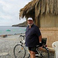 Krios Beach, a good biking trip from Paleochora