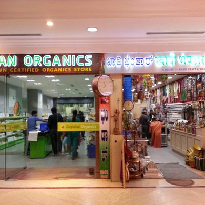 Newly opened shops