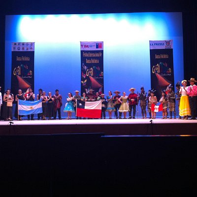Teatro de Maule - final do espetáculo