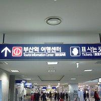 駅構内の標識