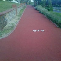 Nice walking path
