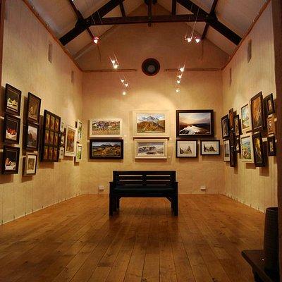 Interior of main gallery