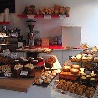 Cakes, bread of fresh coffee?