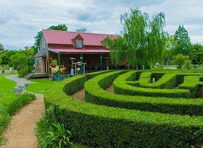 Big Barn Cafe & Loveheart Maze