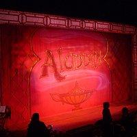 Aladdin in panto