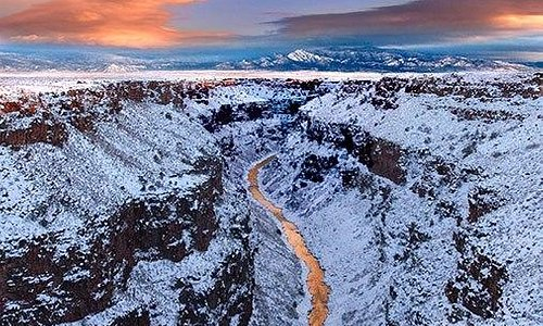 Rio Grande del Norte National Monument. Photo by EarthSky Facebook friend Geraint Smith. Thank y
