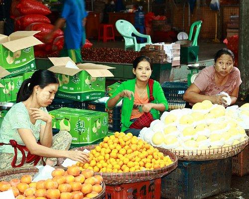 Venditrici di frutta