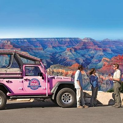 Explore the the South Rim of the Grand Canyon with Pink Jeep Tours.
