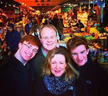 Daniel showed us fabulous food markets!