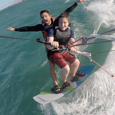 Kitesurf Tandem 15 Knots Puerto Rico