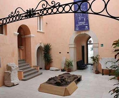 Cortile del museo